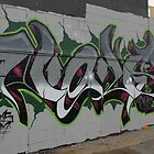 A Wall of Lettering by aussiebushstick