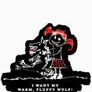 i want my warm fluffy wulf by Michal Tokarczuk
