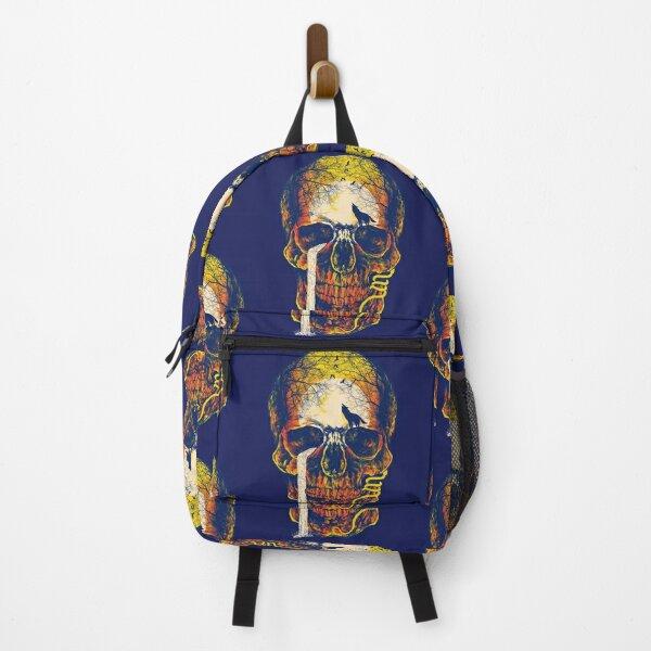 mystery skull Backpack