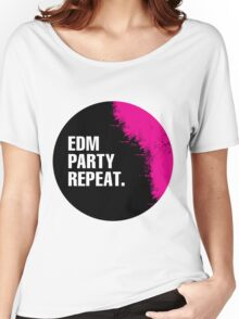 EDM Party Repeat Women's Relaxed Fit T-Shirt