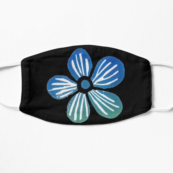 Blue Poppy Mask
