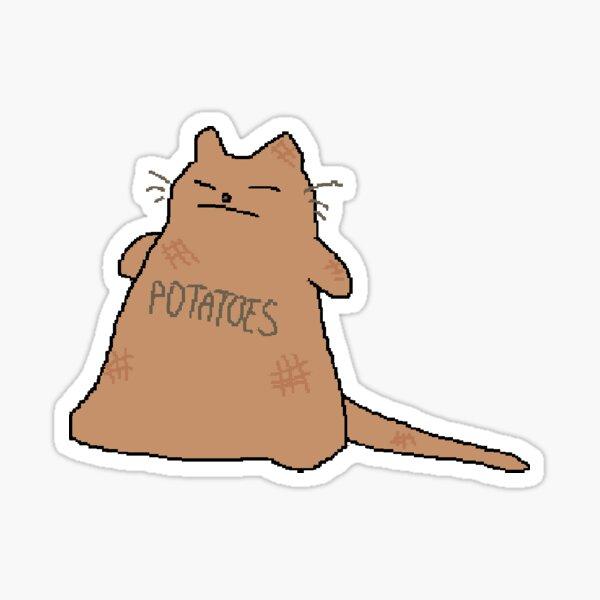 potatoes sack Sticker