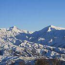 Snowy Mountains by NinaJoan