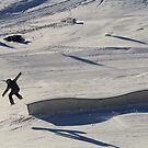 Snowboarder by NinaJoan