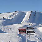 Snow Park, NZ by NinaJoan