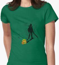 Becoming a Legend - Link:Original Womens Fitted T-Shirt