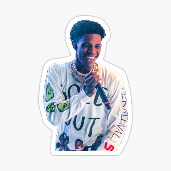 Smiling Aboogie Sticker