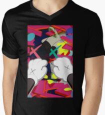 Kaws Paws V-Neck T-Shirt
