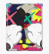 Kaws Pfoten iPad-Hülle & Klebefolie