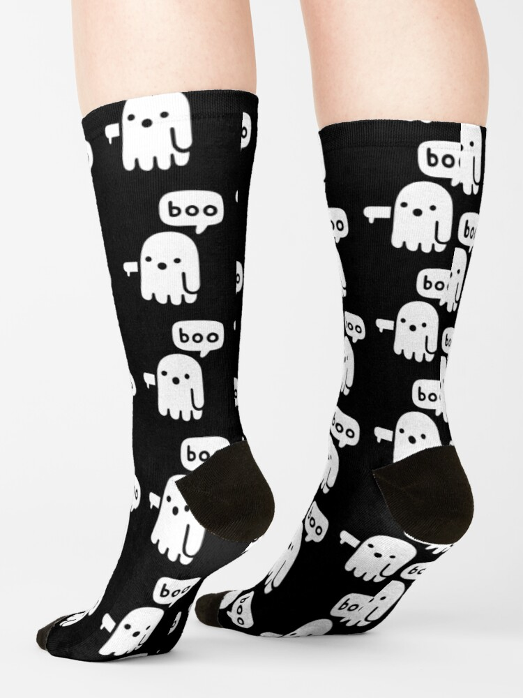 Alternate view of Ghost Of Disapproval Socks