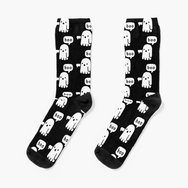 Ghost Of Disapproval Socks