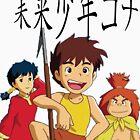 Future Boy Conan by alsadad