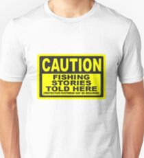 CAUTION FISHING T SHIRT T-Shirt