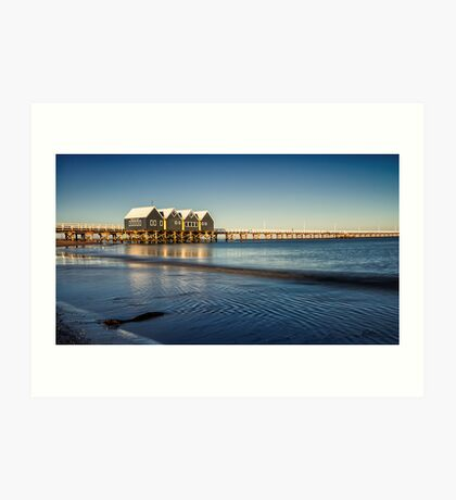 Summer Sunrise at Busselton Art Print