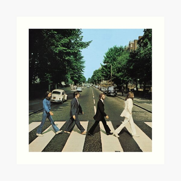 Abbey Road Music Art Print