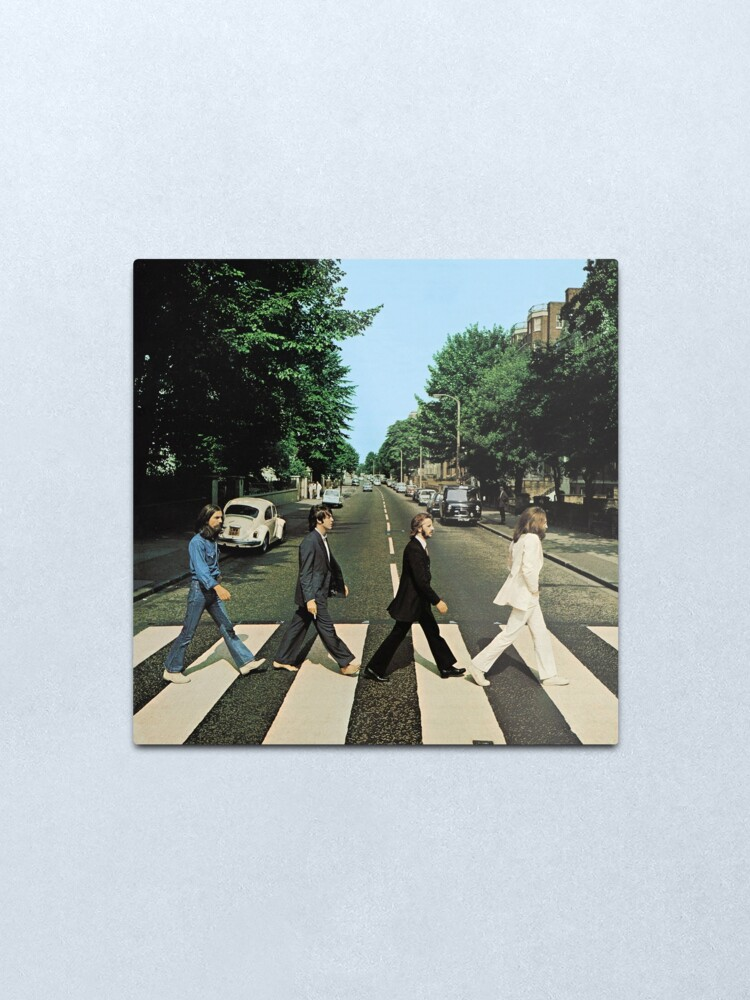 Alternate view of Abbey Road Music Metal Print