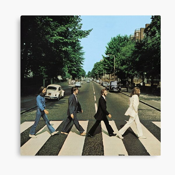 Abbey Road Music Canvas Print