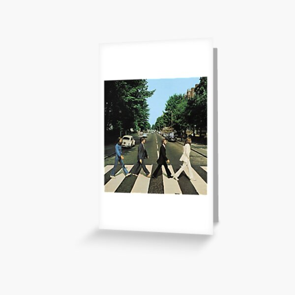 Abbey Road Music Greeting Card