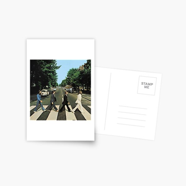 Abbey Road Music Postcard