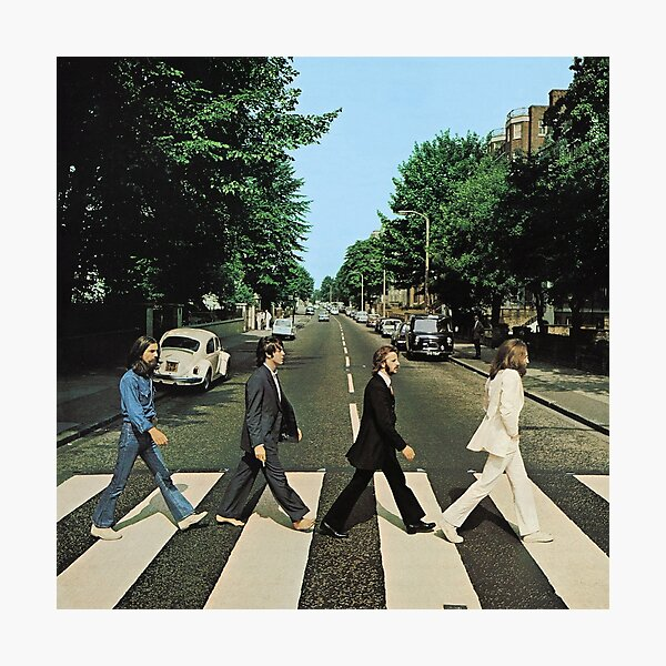 Abbey Road Music Fotodruck