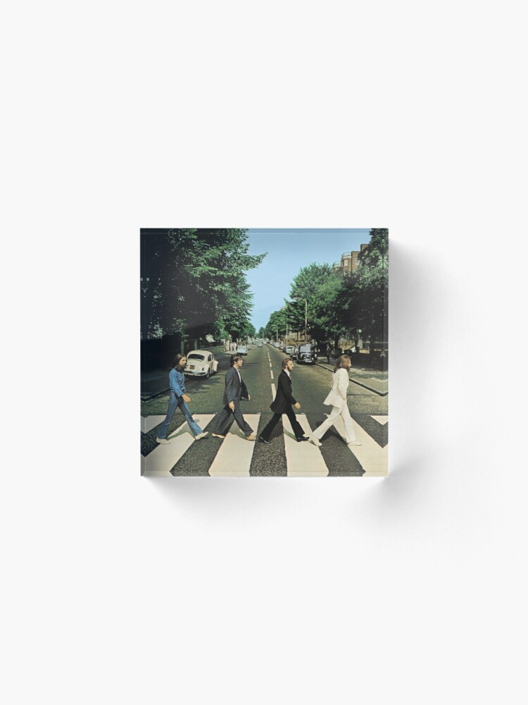Alternate view of Abbey Road Music Acrylic Block