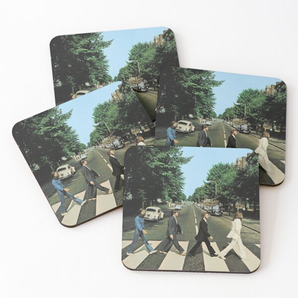 Abbey Road Music Coasters (Set of 4)