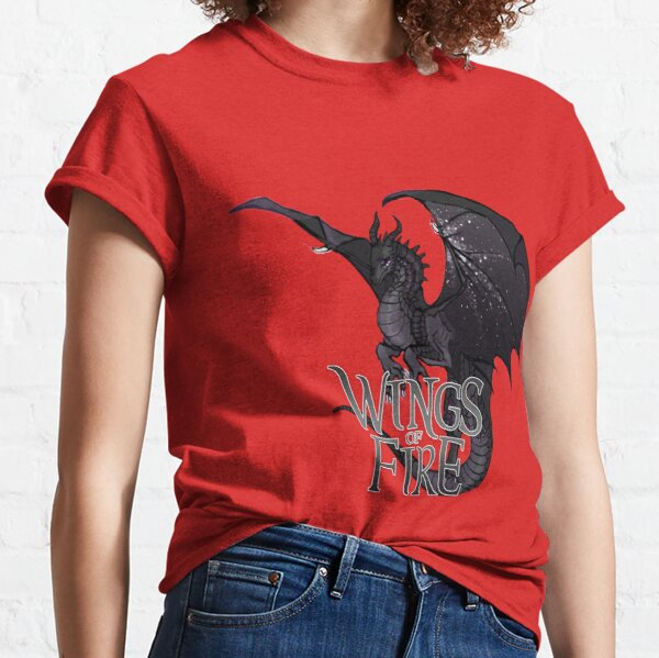 Wings Of Fire - Nightwing Dragon Classic T-Shirt