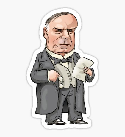 President William McKinley Sticker