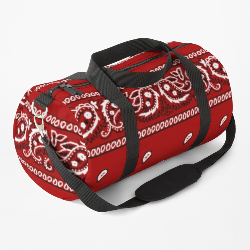 Bandanna Red Duffle Bag