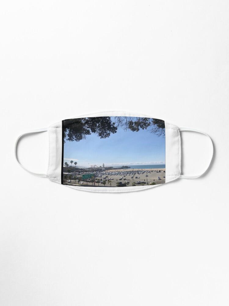 Alternate view of Santa Monica's pier from far  Mask