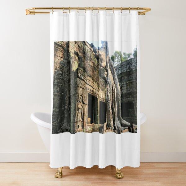 Ta Prohm Shower Curtain