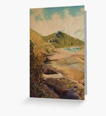 Conspicuous Cliffs III WA Greeting Card