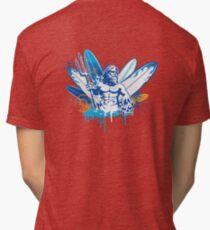 poseidon surfer 4  Tri-blend T-Shirt