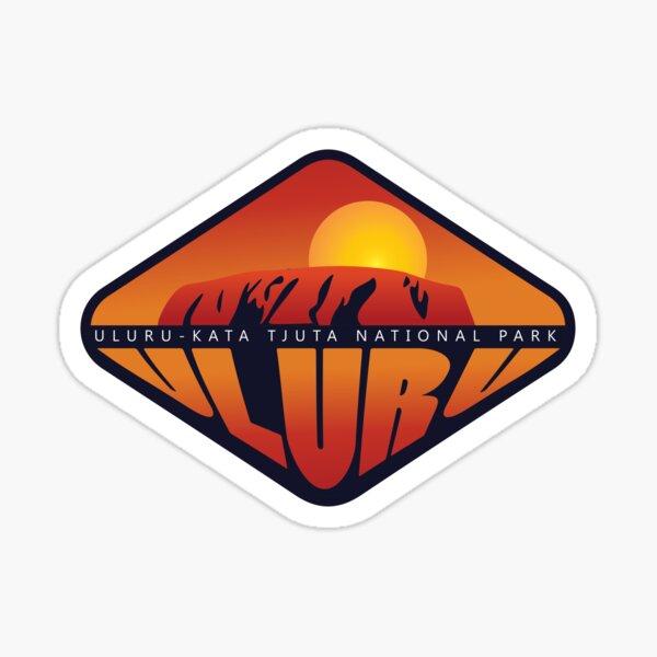 Uluru Badge Sticker