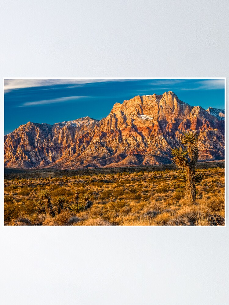 Alternate view of Sandstone Rainbow Mountain Poster