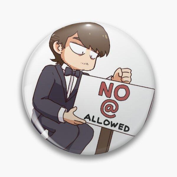 No @ allowed Pin