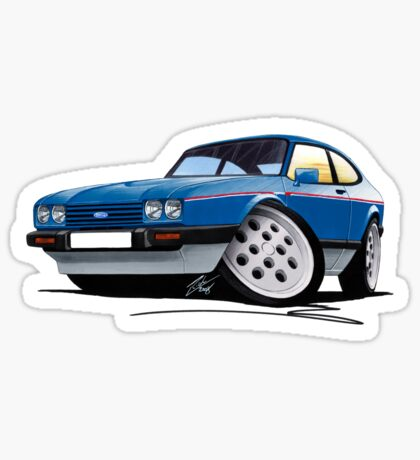 Ford Capri (Mk3) 2.8i Sticker