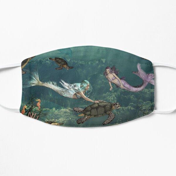 Mermaids at Turtle Springs Mask