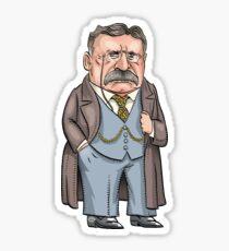 President Theodore Roosevelt Sticker