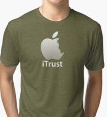 iTrust Christian T-Shirt  Tri-blend T-Shirt