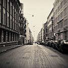 Helsinki - street by Michal Tokarczuk