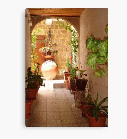 Classic Vase or Grecian Urn Canvas Print
