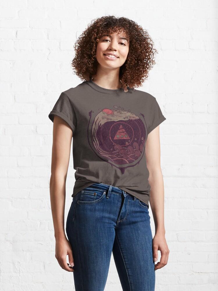 Alternate view of Dark Waters Classic T-Shirt