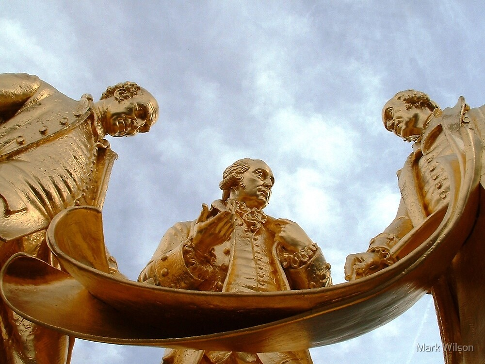 The Golden Boys by Mark Wilson