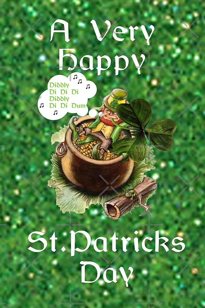 St.Patricks Day Card by Catherine Hamilton-Veal  ©