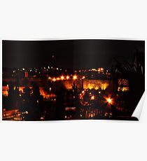 Evening in the Holy Land Poster
