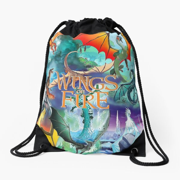 Wings Of Fire All Together Drawstring Bag