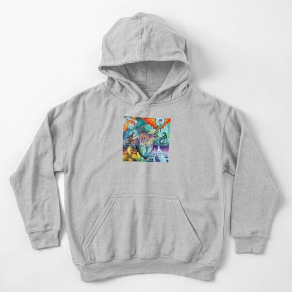 Wings Of Fire All Together Kids Pullover Hoodie