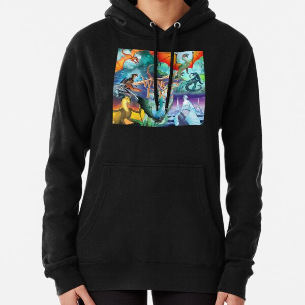 Wings Of Fire All Together Pullover Hoodie