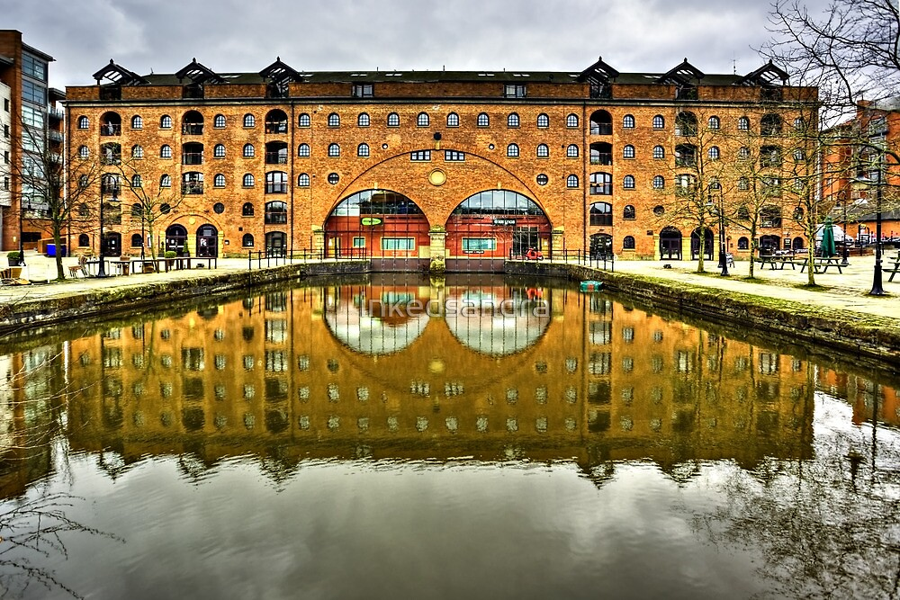 Middle Warehouse Castlefield Manchester by inkedsandra
